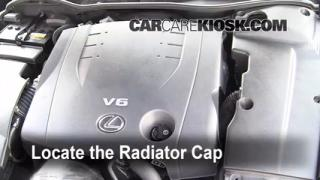 Coolant Flush How-to: Lexus IS250 (2006-2014)