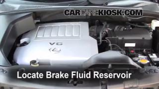 Add Brake Fluid: 2004-2009 Lexus RX350
