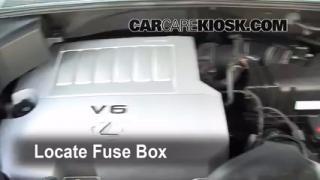 2008 Lexus RX350 3.5L V6 Fuse (Engine) Check