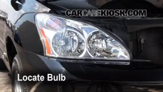 2008 Lexus RX350 3.5L V6 Lights Daytime Running Light (replace bulb)