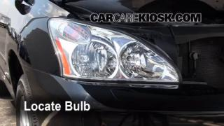 Headlight Change 2004-2009 Lexus RX350