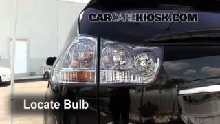2008 Lexus RX350 3.5L V6 Lights Turn Signal - Rear (replace bulb)