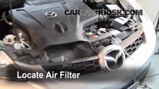 2007-2012 Mazda CX-7 Engine Air Filter Check