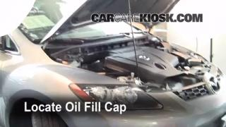 How to Add Oil Mazda CX-7 (2007-2012)