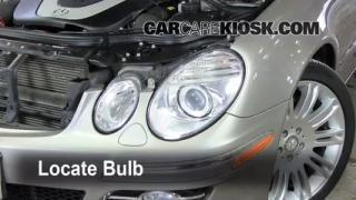 Headlight Change 2003-2009 Mercedes-Benz E350