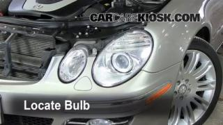 Front Turn Signal Change Mercedes-Benz E350 (2003-2009)