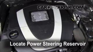 Power steering leak fix 2003 2009 mercedes benz e320 for Mercedes benz power steering fluid