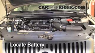 Battery Replacement: 2008-2009 Ford Taurus