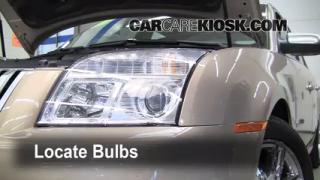 2008 Mercury Sable Premier 3.5L V6 Lights Parking Light (replace bulb)