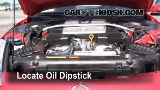 Check Oil Level 2003-2009 Nissan 350Z