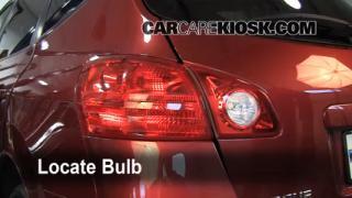 2008 Nissan Rogue SL 2.5L 4 Cyl. Lights Brake Light (replace bulb)