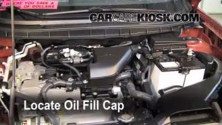 How to Add Oil Nissan Rogue (2008-2013)