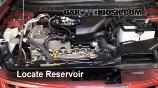 2008 Nissan Rogue SL 2.5L 4 Cyl. Windshield Washer Fluid Check Fluid Level