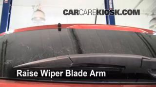 Rear Wiper Blade Change Nissan Rogue (2008-2013)