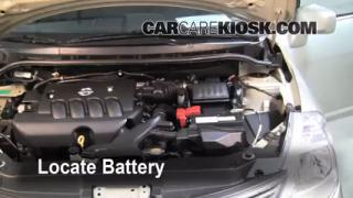 2008 Nissan Versa S 1.8L 4 Cyl. Sedan Battery Clean Battery & Terminals