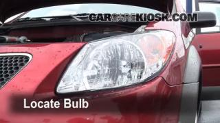 Headlight Change 2003-2008 Pontiac Vibe