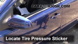2008 Saturn Astra XR 1.8L 4 Cyl. (4 Door) Tires & Wheels Check Tire Pressure