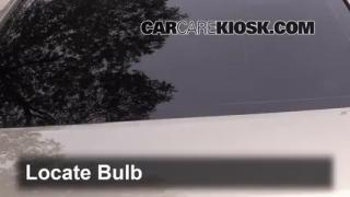 2008 Saturn Aura XE 3.5L V6 Lights Center Brake Light (replace bulb)