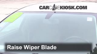 Front Wiper Blade Change Saturn Aura (2007-2009)