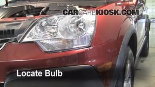 Highbeam (Brights) Change: 2008-2010 Saturn Vue
