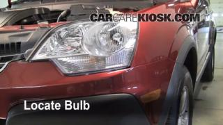 2008 Saturn Vue XE 2.4L 4 Cyl. Lights Turn Signal - Front (replace bulb)