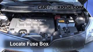 Replace a Fuse: 2008-2014 Scion xD