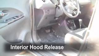 Open Hood How To 2008-2014 Scion xD