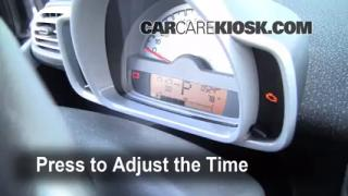 How to Set the Clock on a Smart Fortwo (2008-2015)