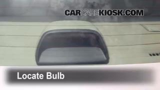 Third Brake Light Bulb Change Subaru Impreza (2008-2014)