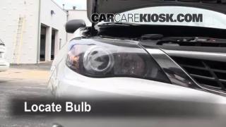 Front Turn Signal Change Subaru Impreza (2008-2014)