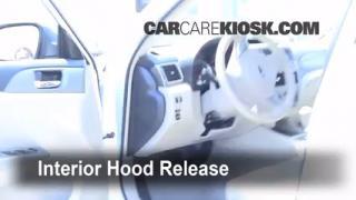 Open Hood How To 2008-2014 Subaru Impreza