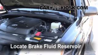 Add Brake Fluid: 2003-2009 Toyota 4Runner