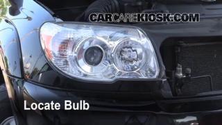 Highbeam (Brights) Change: 2003-2009 Toyota 4Runner
