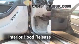 Open Hood How To 2003-2009 Toyota 4Runner