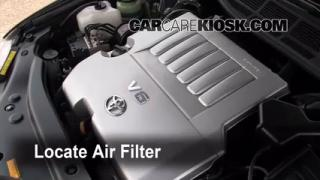 2008 Toyota Avalon Limited 3.5L V6 Air Filter (Engine) Check