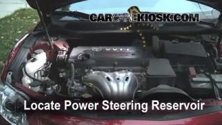 2008 Toyota Camry LE 2.4L 4 Cyl. Power Steering Fluid Fix Leaks