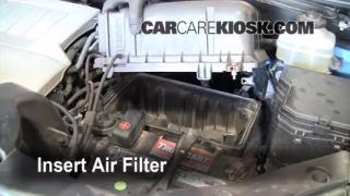 2008-2013 Toyota Highlander Engine Air Filter Check