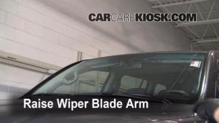 2008 Toyota Land Cruiser 5.7L V8 Windshield Wiper Blade (Front) Replace Wiper Blades