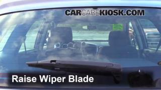 Rear Wiper Blade Change Toyota Matrix (2003-2008)