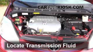 2008 Toyota Sienna CE 3.5L V6 Mini Passenger Van Transmission Fluid Add Fluid