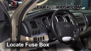 how to jumpstart a 2005 2015 toyota tacoma 2008 toyota tacoma interior fuse box location 2005 2015 toyota tacoma