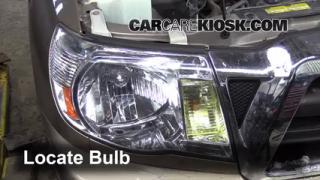 2008 Toyota Tacoma 2.7L 4 Cyl. Extended Cab Pickup (4 Door) Luces Luz de giro delantera (reemplazar foco)