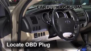 2008 Toyota Tacoma 2.7L 4 Cyl. Extended Cab Pickup (4 Door) Compruebe la luz del motor Diagnosticar