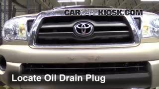 2008 Toyota Tacoma 2.7L 4 Cyl. Extended Cab Pickup (4 Door) Aceite Cambiar aceite y filtro de aceite