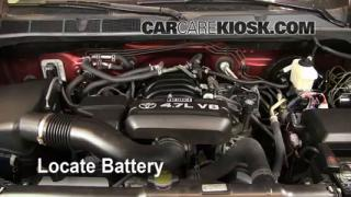 2008 Toyota Tundra SR5 4.7L V8 Crew Cab Pickup Battery Replace