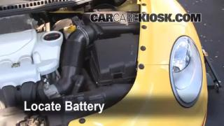 How to Clean Battery Corrosion: 2006-2010 Volkswagen Beetle