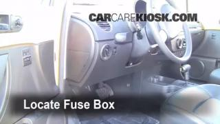 Interior Fuse Box Location: 2006-2010 Volkswagen Beetle