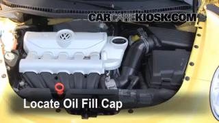 How to Add Oil Volkswagen Beetle (2006-2010)