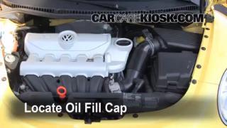 2008 Volkswagen Beetle S 2.5L 5 Cyl. Hatchback Oil Add Oil
