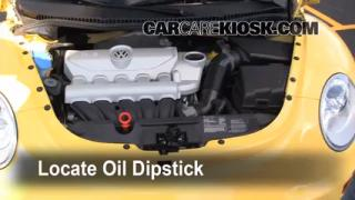 Check Oil Level 2006-2010 Volkswagen Beetle